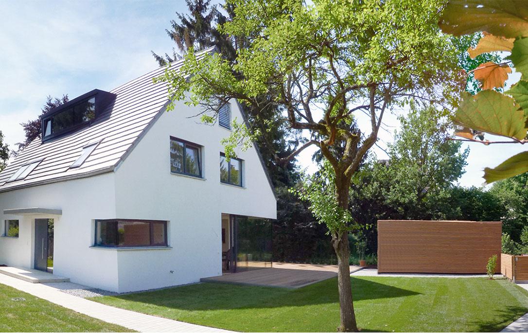 Neubau Einfamilienhaus Munchen Dewan Friedenberger Architekten In